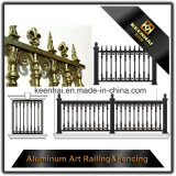 Garden Decoration Color Painted Garden Metal Aluminum Slat Fence for Security