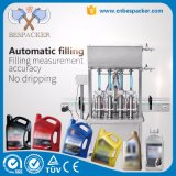 Automatic Conveyor Deliver Paste Bottle Filling Machine