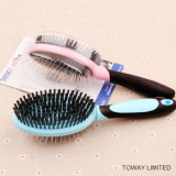 Functional Double Beauty Grooming Stainess Steel Hair Combs Clean Brush