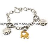 Wholesale Kids Jewelry Stainless Steel Elephant Charm Bracelet