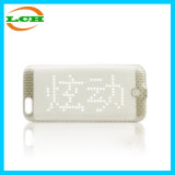 Snake Scale Design Intelligent LED Display Bluetooth Phone Case for iPhone6