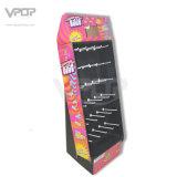 Pop up Advertising Exhibition Cardboard Floor Hook Display Racks
