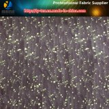 Polyester T400 High Elastance Pongee Fabric with Burned-out for Jacket