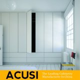 Wholesale Modern Simple Style White Lacquer Bedroom Wardrobe (ACS3-H01)