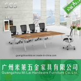 Attractive Price Design Straight Office Conference Meeting Table & Dining Table with Metal Foot