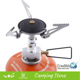 Portable Camping Stove with Ceramic Burner Surface