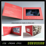 """Customized 4.3"""" Video Brochure Advertising Brochure LCD Business Card"""