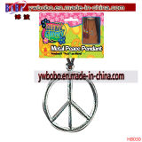 Christmas Decoration Christmas Ornament Peace Sign Party Supply (H8030)