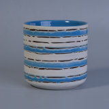 Hand Paint Blue and White Flower Pot Ceramic Wholesale