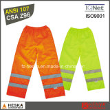 High Visibility Custom Waterproof Pants 100% Polyester Warm Pants Winter Trousers