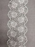 White African Flower Embroidery Lace for Wedding Dress