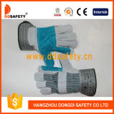 Ddsafety 2017 Reinfored Double Leather Glove