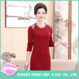 Wool Jumper Coat Black Knit Long Cardigan Sweater for Women