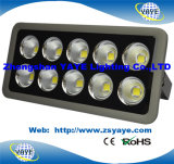 Yaye 18 Hot Sell 3/5 Years Warranty Ce/RoHS Hot Sell 500W LED Flood Light /500W LED Tunnel Light /500W LED Spotlight