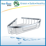 Single Layer Stainless Steel Commodity Holder in Bathroom