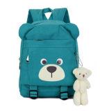 Five Colors Backpack Waterproof Canvas Backpack Bear Backpack School Bag Yf-Sbz2219