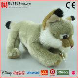Realistic Stuffed Plush Toy Lynx for Baby
