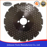 105-300mm Single Dots Electroplated Diamond Saw Blades for Marble and Granite Cutting