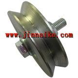 Solid Steel V-Groove Wheel