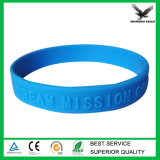 Cheap Embossed Silicone Wristband Customized