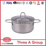 Stainless Steel Casserole with New Wire Handle