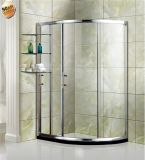 2017 Factory Price Bathroom Simple Shower Enclosure with Aluminum Frame