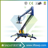 14m Light Weight Portable Aerial Single Man Lift