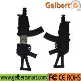 Hot Sales PVC Machine Gun Shaped USB Flash Drive