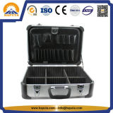 Portable Aluminum Tool Metal Box with Pockets (HT-2229)