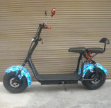 2017 New Fat Tire 1000W 60V 12ah Electric Scooter Adult Electric Motorcycle