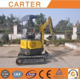 Rubber Tracks&Retractbale Chassis CT16-9d Crawler Mini Excavator