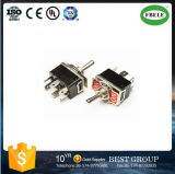 9 Pin Switch Mini Switch 3A 250VAC 3 Position Switch