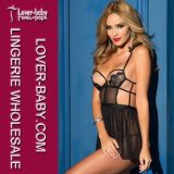 Woman Mini Nightwear Lace Babydoll (L28011-1)