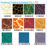 Hualong Silvery Color Cracks Effect Decorative Paint