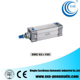 DNC ISO6431 Double Acting Pneumatic Cylinder DNC63*100 Exe