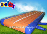 Hubble-Bubble Inflatable Air Track for Gym