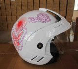 Motorcycle Accessories & Parts Safe Gear ABS Half Face Helmet