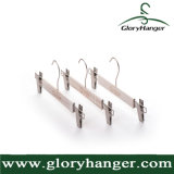 Luxury Trouser Hanger Wholesale, Pants Hanger with Metal Clips and Logo