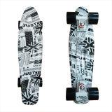 22inch PP Mini Skateboard Cruiser Complete Skateboards Banana Skateboard Newspaper Design-21