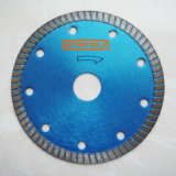 Dry Cutting Continuous Rim Diamond Saw Blades for Masonry