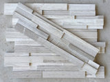 White Culture Stone Stacked Stone Veneer for Interior and Exterior House Decor