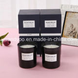 Natural Soy Custromized Glass Candle with Private Label