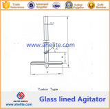 Turbin Type Glass Lined Agitator