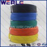 126X0.39mm Copper Stranded Teflon Insulated Wire