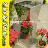Outdoor Stainless Steel Flower Pot Garden Planter