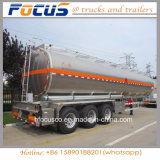 12 Wheels 42m3 Fuel Aluminum Tanker Truck Trailer for Aramco