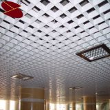 Decorative False a Type Triangle Metal Aluminum Grid Ceiling System with Ivory White