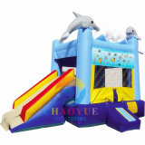 Dophin Inflatable Bounce House Jumping Castle for Kids
