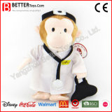 Stuffed Animals Doctor Monkey China Factory