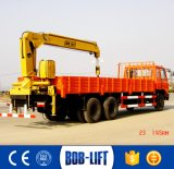 Small Lift Dump Truck with Crane Price